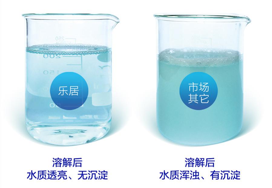 洗衣片与洗衣液功效对比图